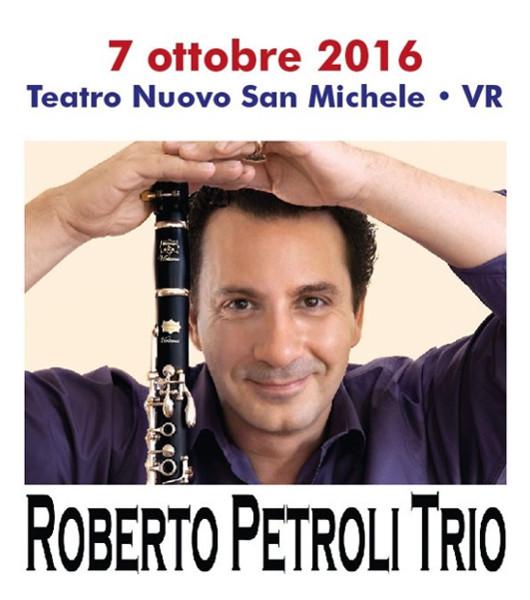 Roberto Petroli Trio al Teatro Nuovo San Michele (VR)
