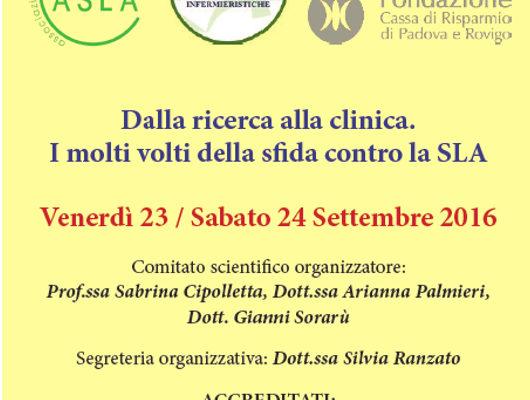 """Convegno """"Dalla ricerca alla clinica"""" al Palazzo del Bo a Padova + SLIDES"""