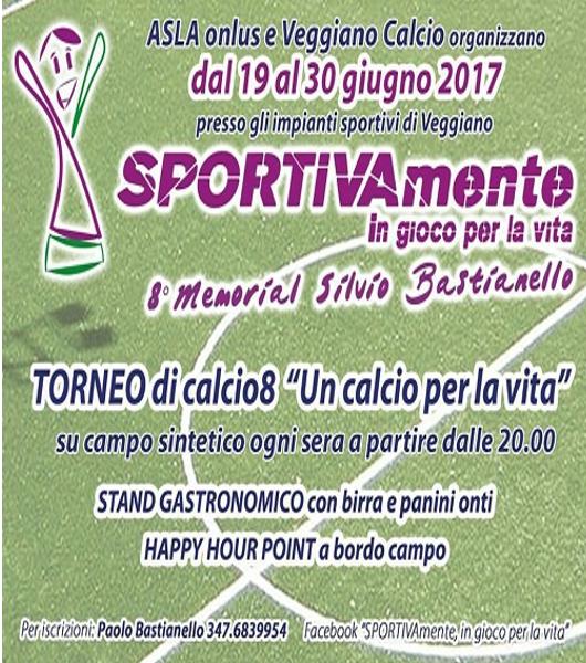 """8° Torneo di calciotto """"Un calcio per la vita"""""""