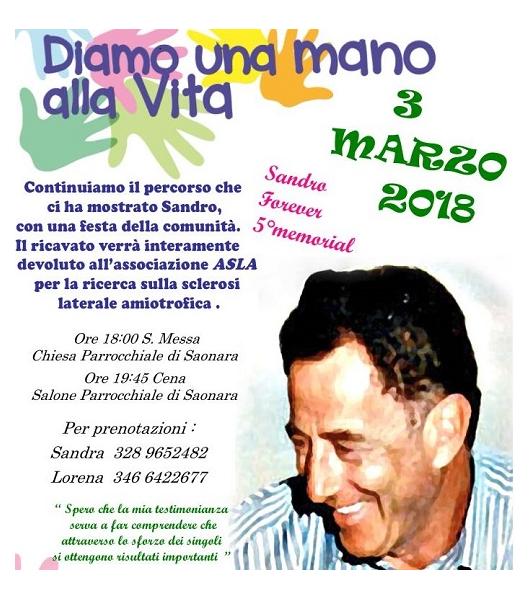 3 marzo 2018 – 5° Memorial Sandro Boscaro a Saonara