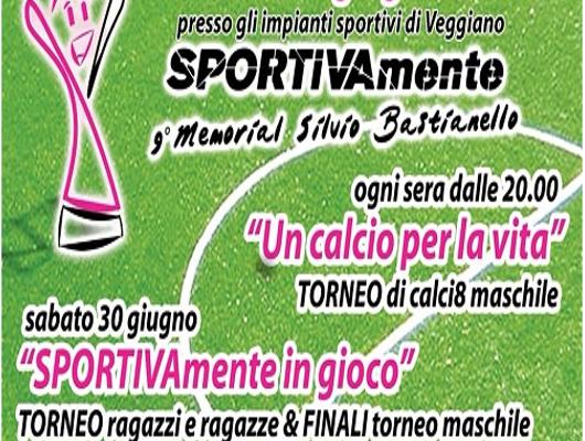"""9° Torneo di calciotto """"Un calcio per la vita"""""""