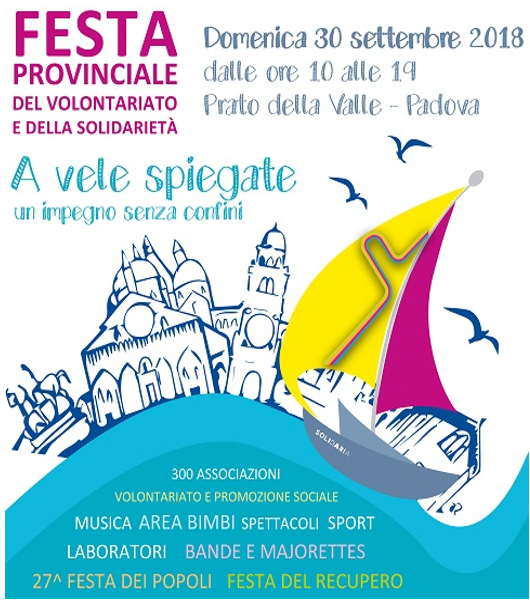 Festa del volontariato a Padova