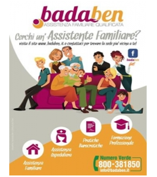 Per chi ha bisogno di badanti e di assistenza burocratica per l'assistenza familiare