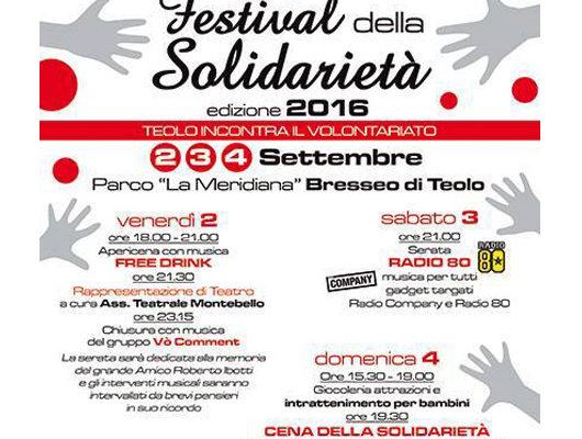 """1° """"Festival delle Associazioni"""" a Bresseo di Teolo"""