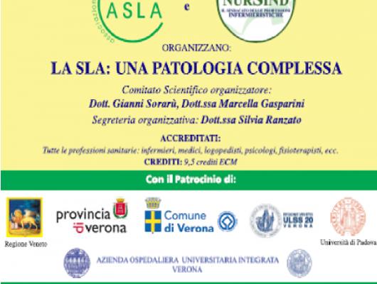 """Convegno: """"La SLA: una patologia complessa"""" – Verona"""