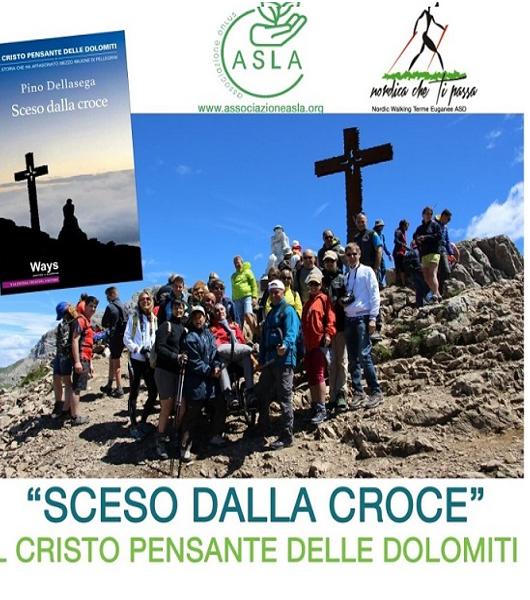 """A Montegrotto Terme incontro con Pino Dellasega, autore di """"Sceso dalla croce"""""""