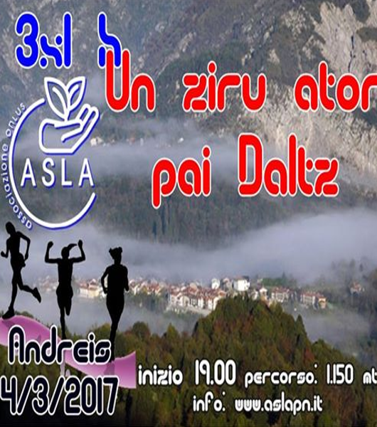 Andreis – Staffetta SLA 3X1