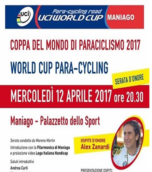 Coppa del mondo di paraciclismo 2017 a Maniago