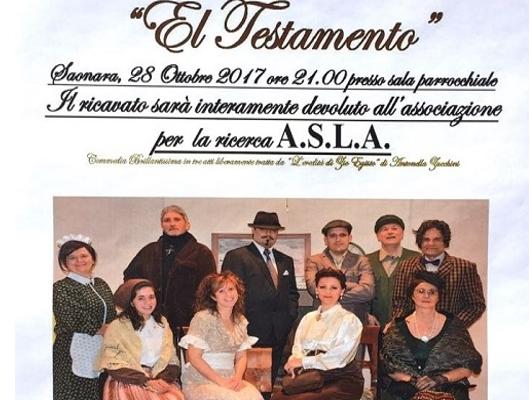 Saonara, commedia teatrale in ricordo di Sandro Boscaro