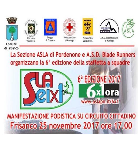 Sla 6 x 1 – edizione 2017