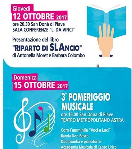 Le nuove iniziative d'autunno della sezione di San Donà di Piave