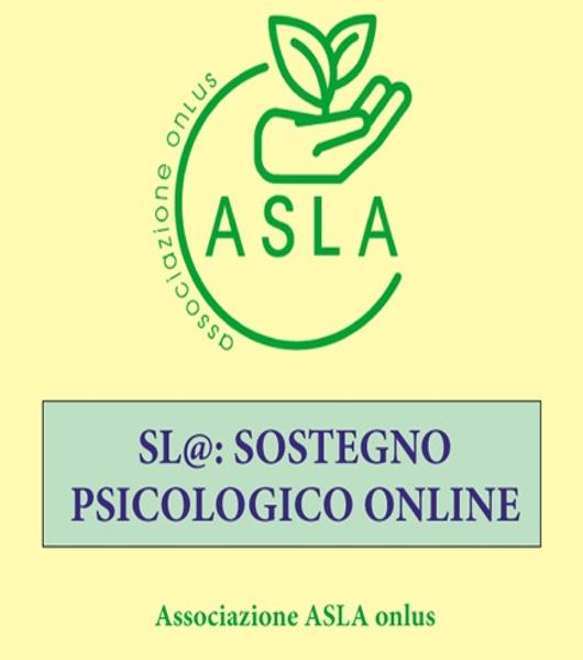 """Comunicato stampa – """"SL@: sostegno psicologico online"""""""