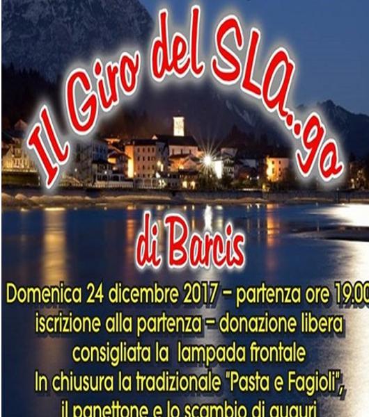 27/12/2017: Giro del SLA…go a Barcis