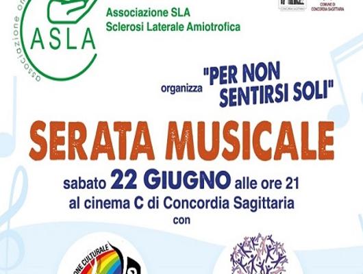 Serata musicale in ricordo di Toni Comisso a Concordia Sagittaria